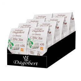 Dosette Senseo compatible Café Dagobert Bio Afric'Ain - 8 paquets - 288 dosettes
