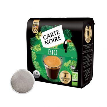 Dosette Senseo compatible Café Bio Carte Noire - 32 dosettes