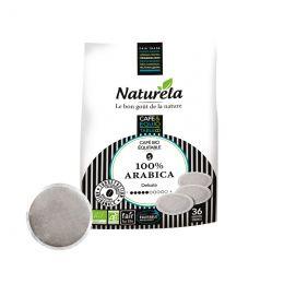 Dosette Senseo compatible Café Bio Naturela 100% Arabica - 36 dosettes