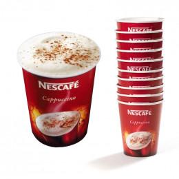 Gobelet Pré-dosés Premium Nescafé Cappuccino : 10 gobelets