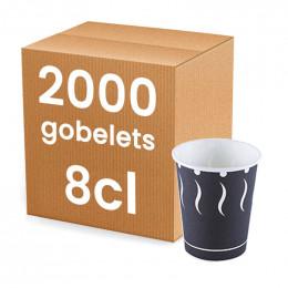 Gobelet en Carton pour café ristretto 8 cl - par 20
