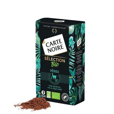 Café Moulu Bio Carte Noire Sélection Pérou - 250 gr