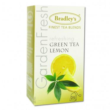Thé Aromatisé Bradley's Vert Citron - 25 sachets