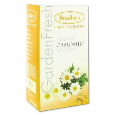 Infusion Bradley's Camomille - 25 sachets