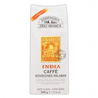 Café en Grains Compagnia Dell'Arabica India : 500 gr