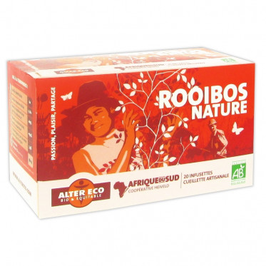 Thé Rooibos Alter Eco Nature - 20 sachets