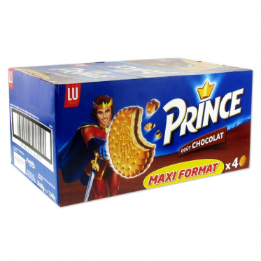 Biscuit en Gros : Prince Chocolat - boite de 20 paquets
