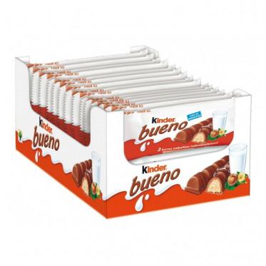 Barre Chocolatée en Gros : Kinder Bueno - boite de 30 paquets