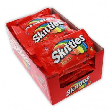 Bonbon en Gros : Skittles Fruits - boite de 36 sachets