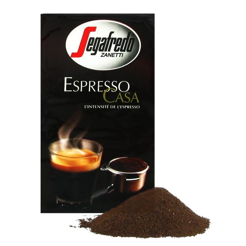 caf moulu lot de 4 paquets segafredo espresso casa 1 kg coffee webstore. Black Bedroom Furniture Sets. Home Design Ideas