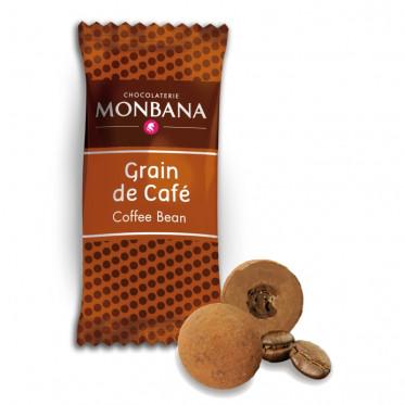 Chocolat en Gros : Monbana Grains de Café - 200 pièces