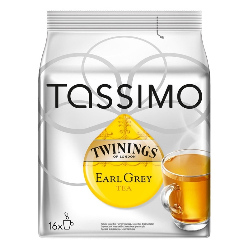 capsule tassimo th twinings earl grey 16 t discs coffee webstore. Black Bedroom Furniture Sets. Home Design Ideas