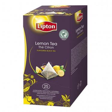 Thé Aromatisé Lipton Trendy T Citron Pyramides - 25 sachets
