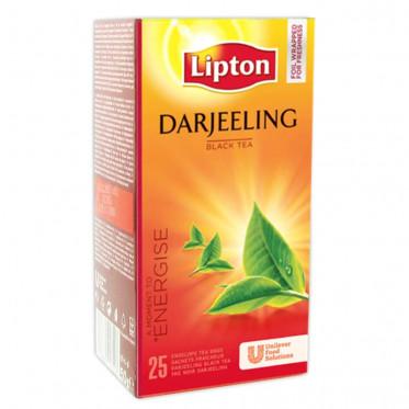 Thé Aromatisé Lipton Darjeeling - 25 sachets