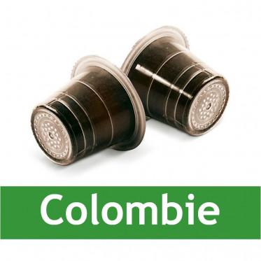 Capsule Nespresso Compatible Capsulo Colombie - 50 capsules