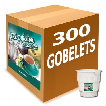 Gobelet Pré-dosé au carton Thé Noir en Sachet - 300 boissons