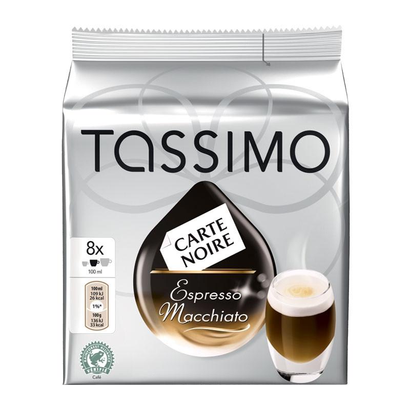capsule tassimo carte noire espresso macchiato 8 boissons. Black Bedroom Furniture Sets. Home Design Ideas