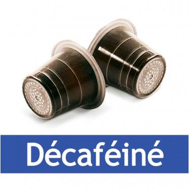 Capsule Nespresso Compatible Capsulo Décaféiné - 50 capsules