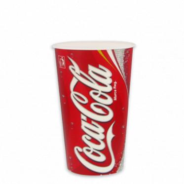 Gobelet en Carton Coca Cola 30 cl par 100