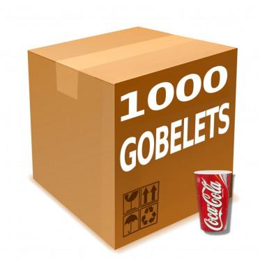 Gobelet en Gros en Carton Coca Cola 40 cl - par 1000
