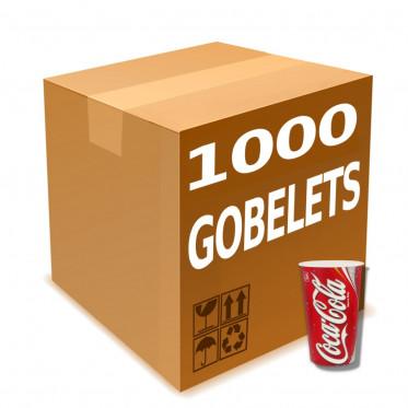 Gobelet en Gros en Carton Coca Cola 50 cl - par 1000