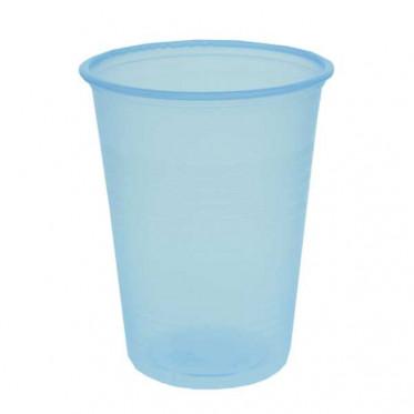 Gobelets à eau en Plastique Bleu Transparent 20 cl par 100