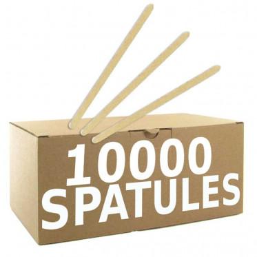 Touillette (spatule) en Bois Biodégradable 140 mm - par 10000