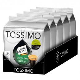 Capsules Tassimo Carte Noire Café Long Délicat 5 paquets