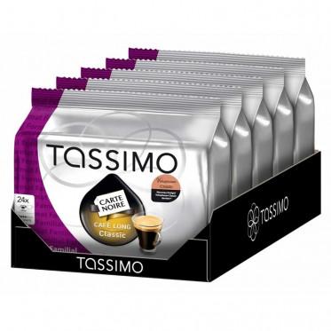 """Capsule Tassimo Carte Noire Café Long Classic """"Format Familial"""" 5 paquets - 120 T-discs"""