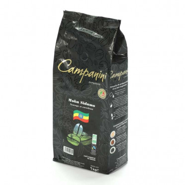 Café en Grains Campanini Moka Sidamo - 1 Kg