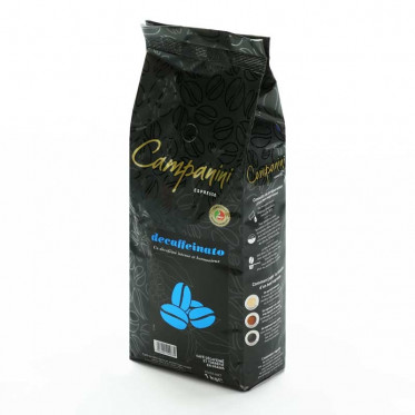 Café en Grains Campanini Decaffeinato - 1 Kg