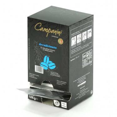 dosette ese campanini espresso decaffeinato x 18 coffee webstore. Black Bedroom Furniture Sets. Home Design Ideas