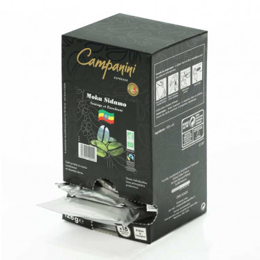 Dosette ESE Campanini Espresso Moka Sidamo x 18