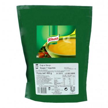 Potage Instantané Distributeur Automatique Knorr Soupe 7 Légumes - 450 gr