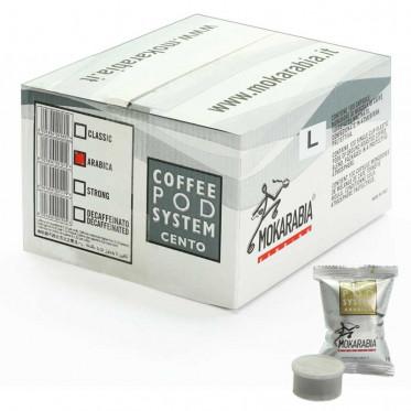 Capsule Lavazza Espresso Point Compatible Mokarabia Arabica - 100 capsules