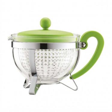 Bouilloire / Théière Bodum : Chambord Vert Citron - 1 litre