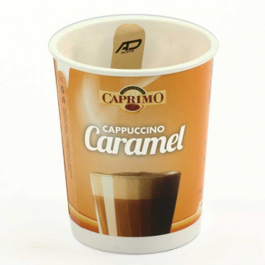 Gobelet Pré-dosé Premium Caprimo Cappuccino Caramel - 10 boissons