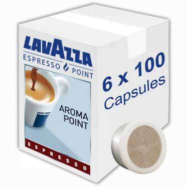 Capsule Lavazza Espresso Point Aroma Point Espresso - 6 boites - 600 capsules
