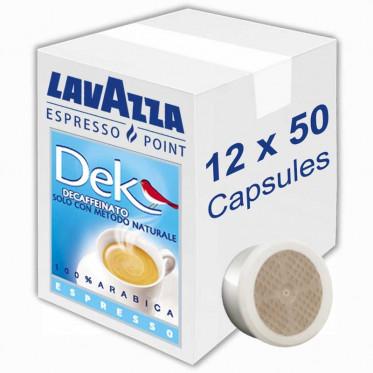 Capsule Lavazza Espresso Point Dek Décaféinato - 12 boites - 600 capsules