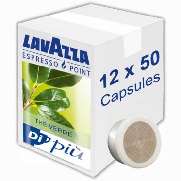 Capsule Lavazza Espresso Point Thé Verde - 12 boites - 600 capsules