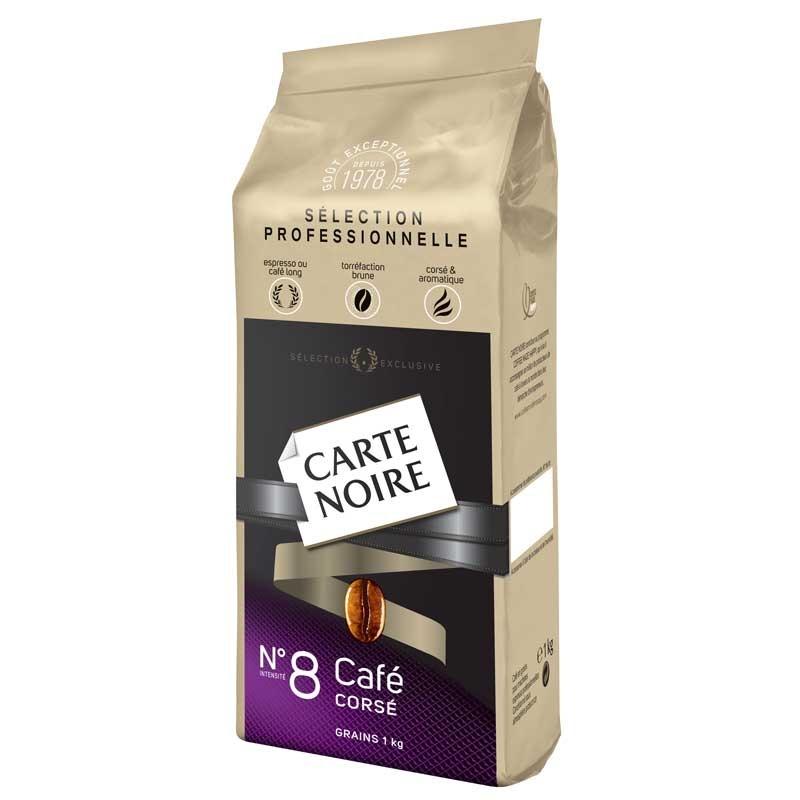 caf en grains carte noire n 8 caf cors 1 kg coffee webstore. Black Bedroom Furniture Sets. Home Design Ideas