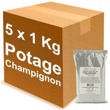Potage Instantané Distributeur Automatique Drink'n Like Soupe Champignon - 5 Kg