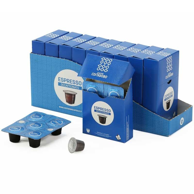 capsule nespresso compatible costadoro espresso d caf inato 10 boites 100 capsules coffee. Black Bedroom Furniture Sets. Home Design Ideas