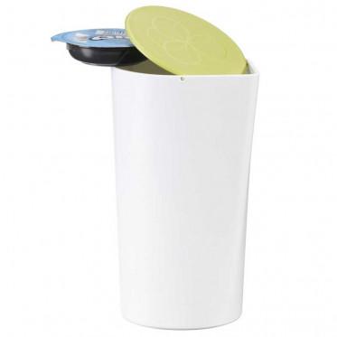Accessoires Tassimo : Poubelle de table pour T-Discs Tassimo - Vert - 9 T-Discs