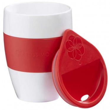 Accessoires Tassimo : Tasse Aroma to Go Rouge - à l'unité