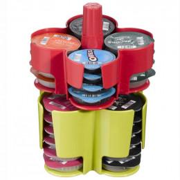 Accessoire Tassimo Caroussel de T-Discs 40 T-Discs Vert - Rouge