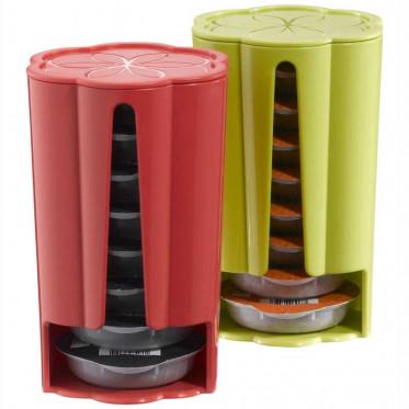 Distributeur Capsules Tassimo : Rouge - Vert - 2 x 8 T-Discs