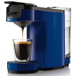 Machine à dosettes Senseo Up Bleu Cobalt : Philips HD7880/71