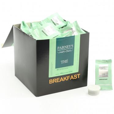Capsule Cafés Richard Parney's Thé Breakfast - 40 capsules