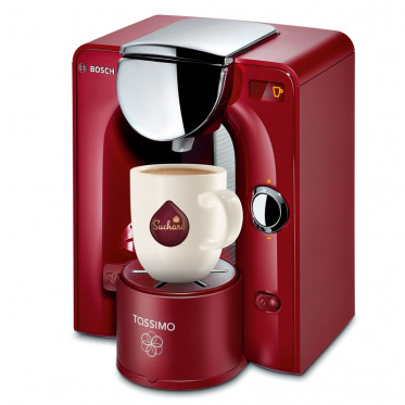 Machine Tassimo Charmy Rouge et Chrome : Bosch TAS5546